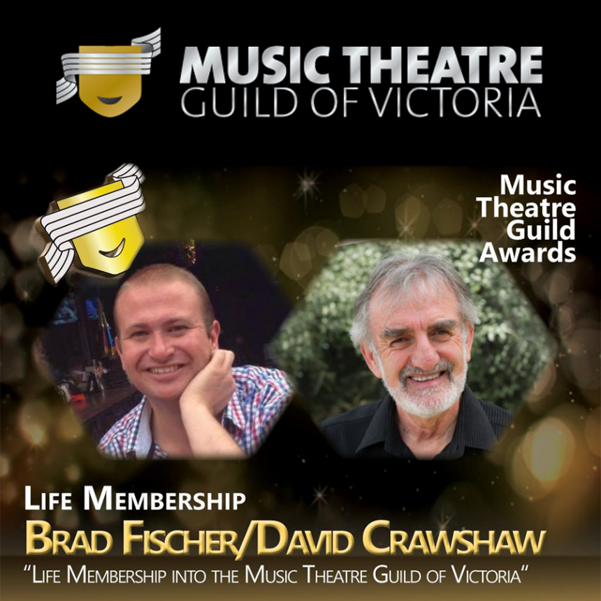 Life Membership Awarded – Brad Fischer and David Crawshaw
