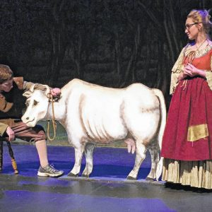 Creating Worlds: A Cow as White as Milk